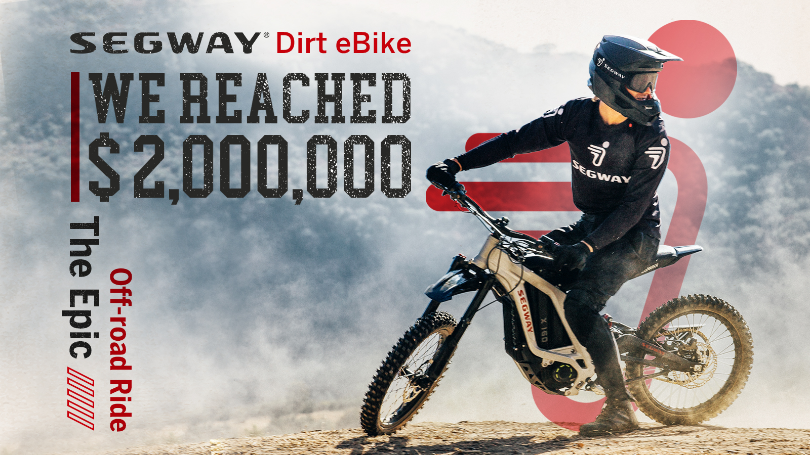 We Reached $2,000,000 Segway Dirt eBike The Epic Off-road Ride